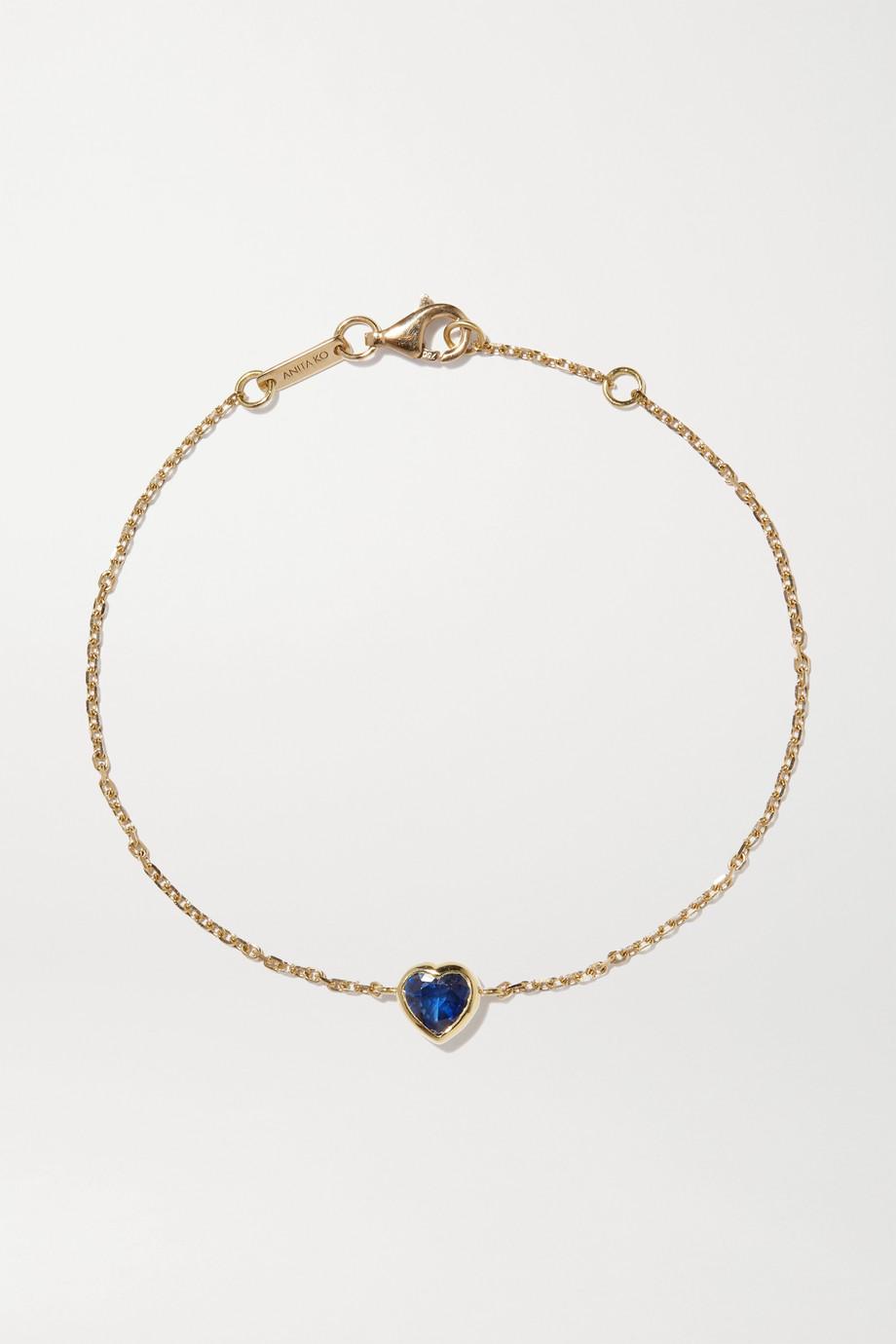 Anita Ko 18-karat gold sapphire bracelet