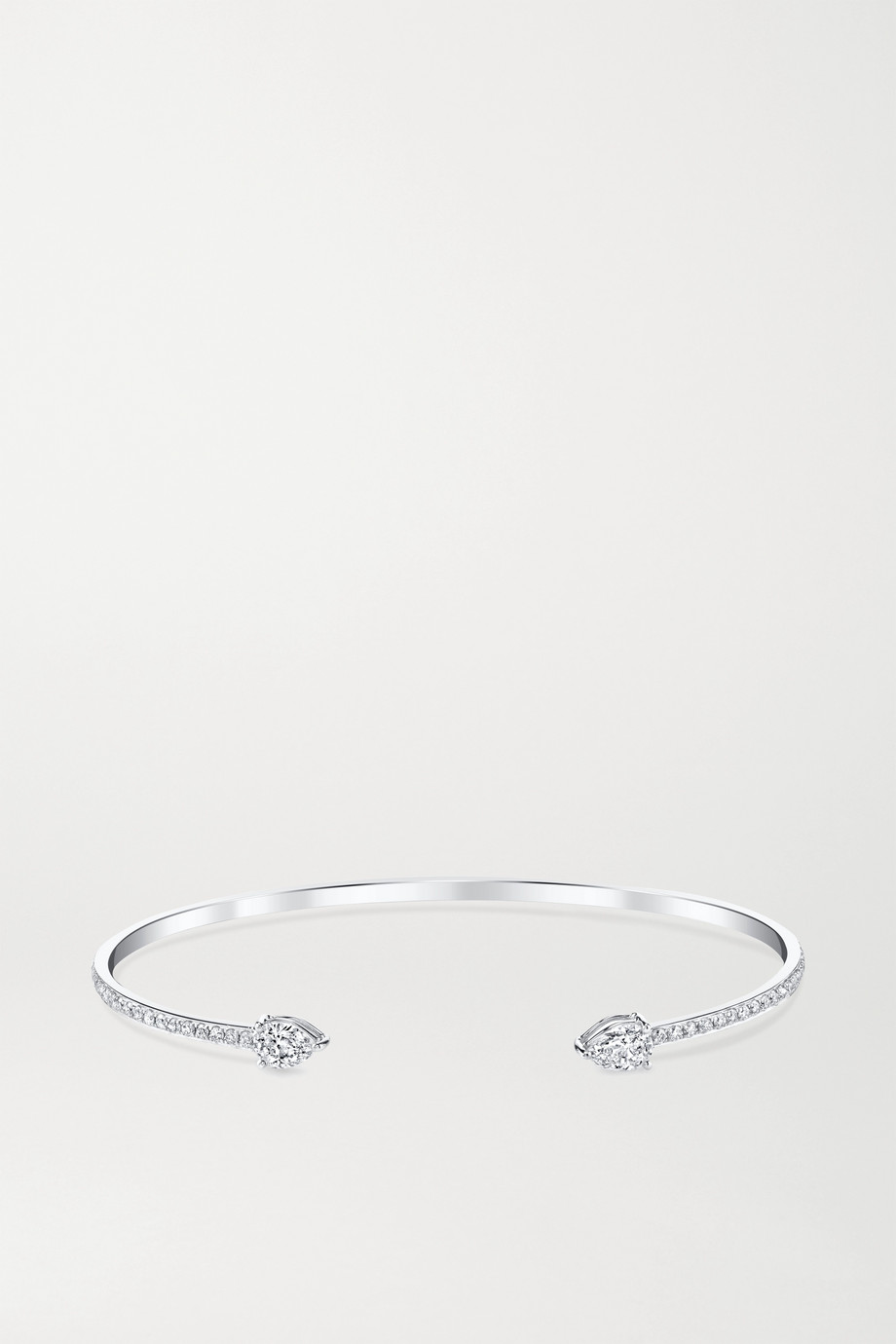 Anita Ko 18-karat white gold diamond cuff