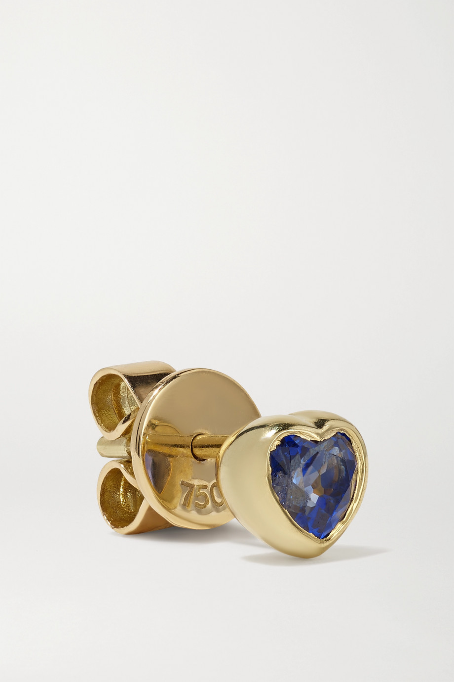 Anita Ko 18-karat gold sapphire earrings