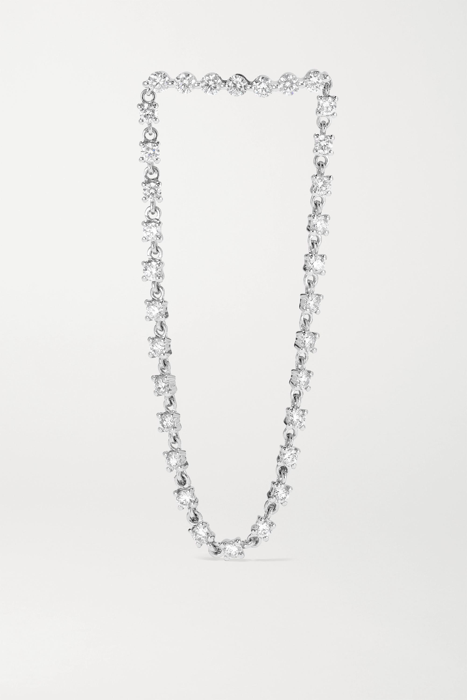 Anita Ko Ohrring aus 18 Karat Weißgold mit Diamanten