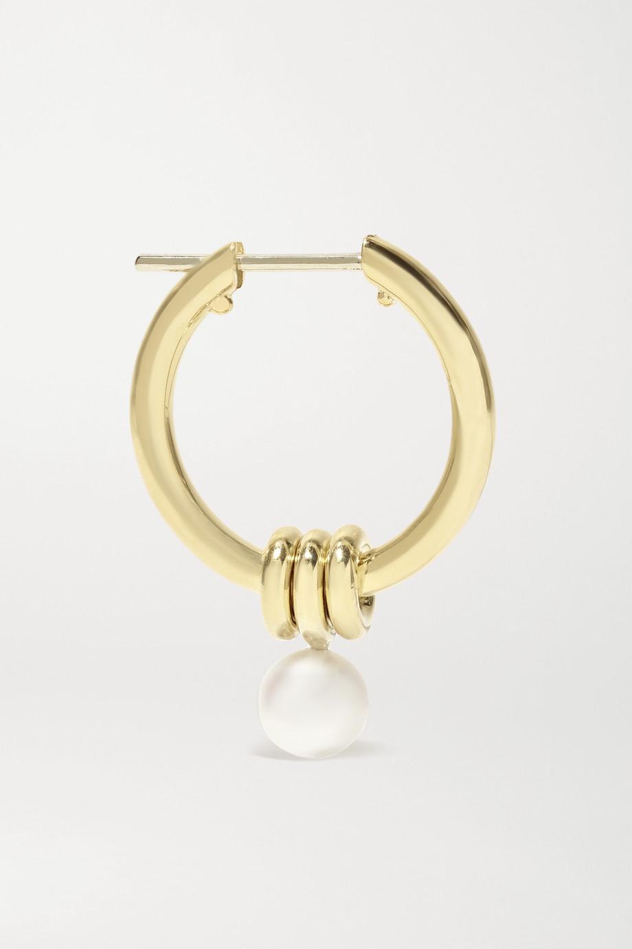 Spinelli Kilcollin Ara Creolen aus 18 Karat Gold mit Perlen