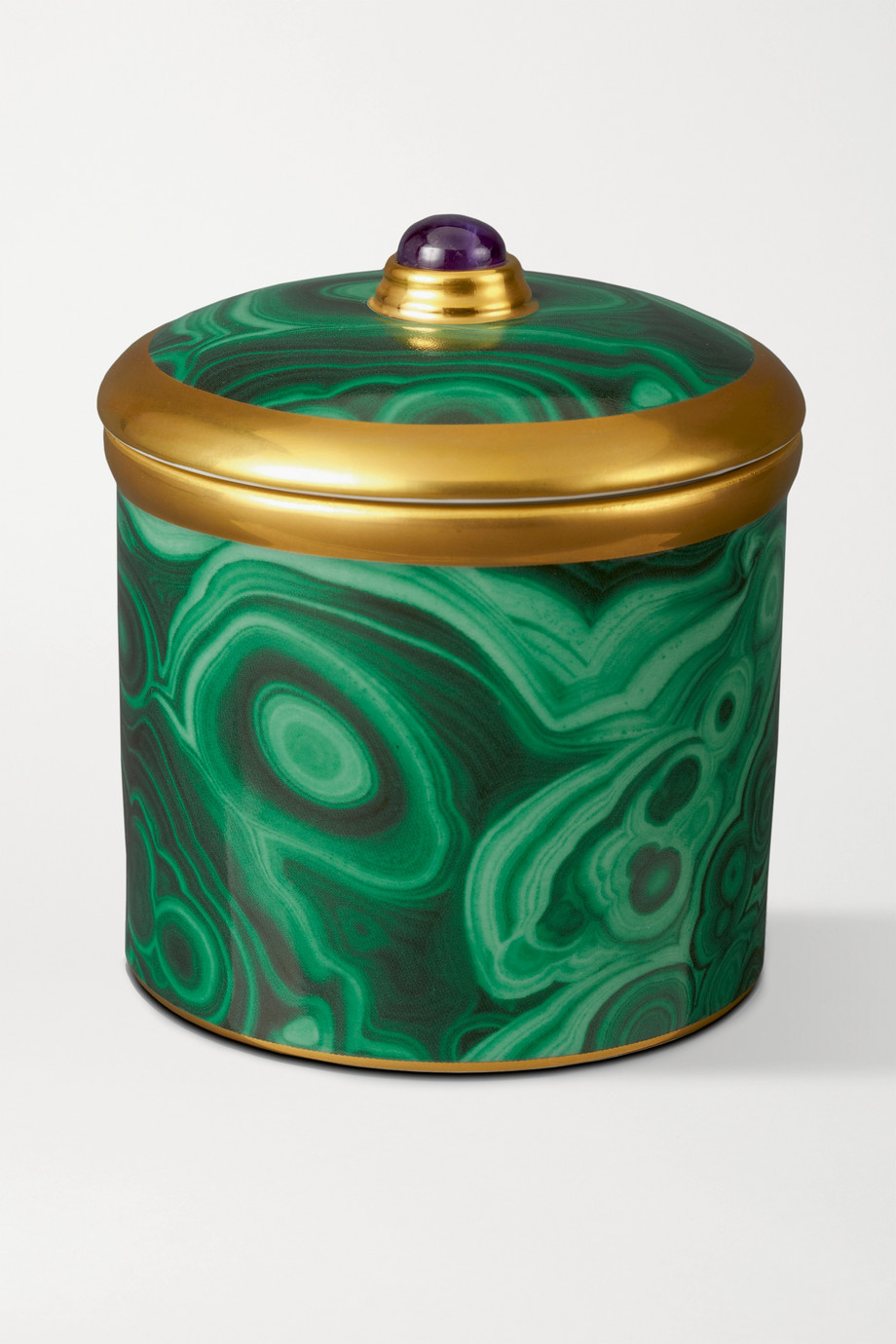 L'Objet Malachite scented candle, 610g