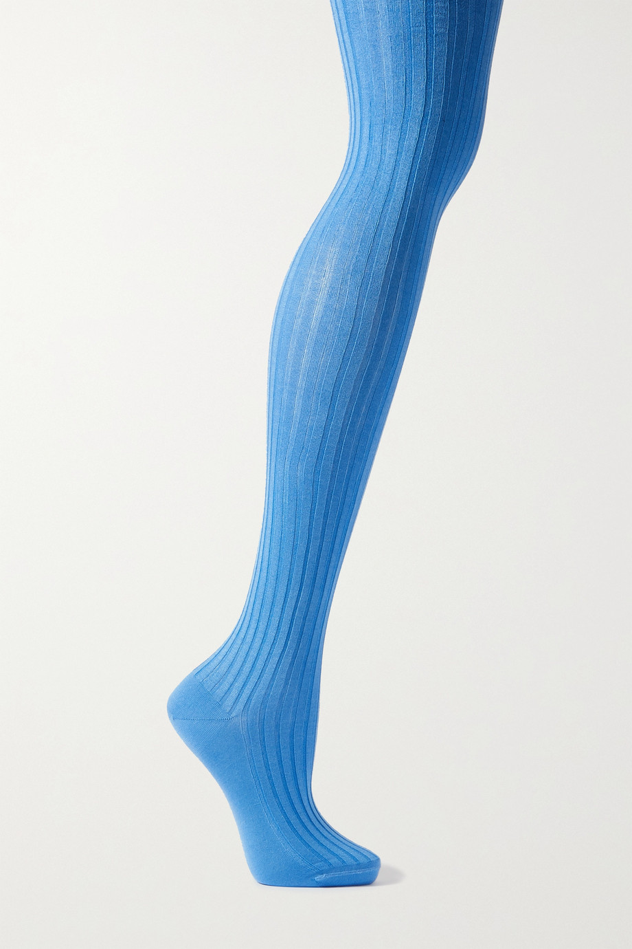 Prada Ribbed stretch-silk tights