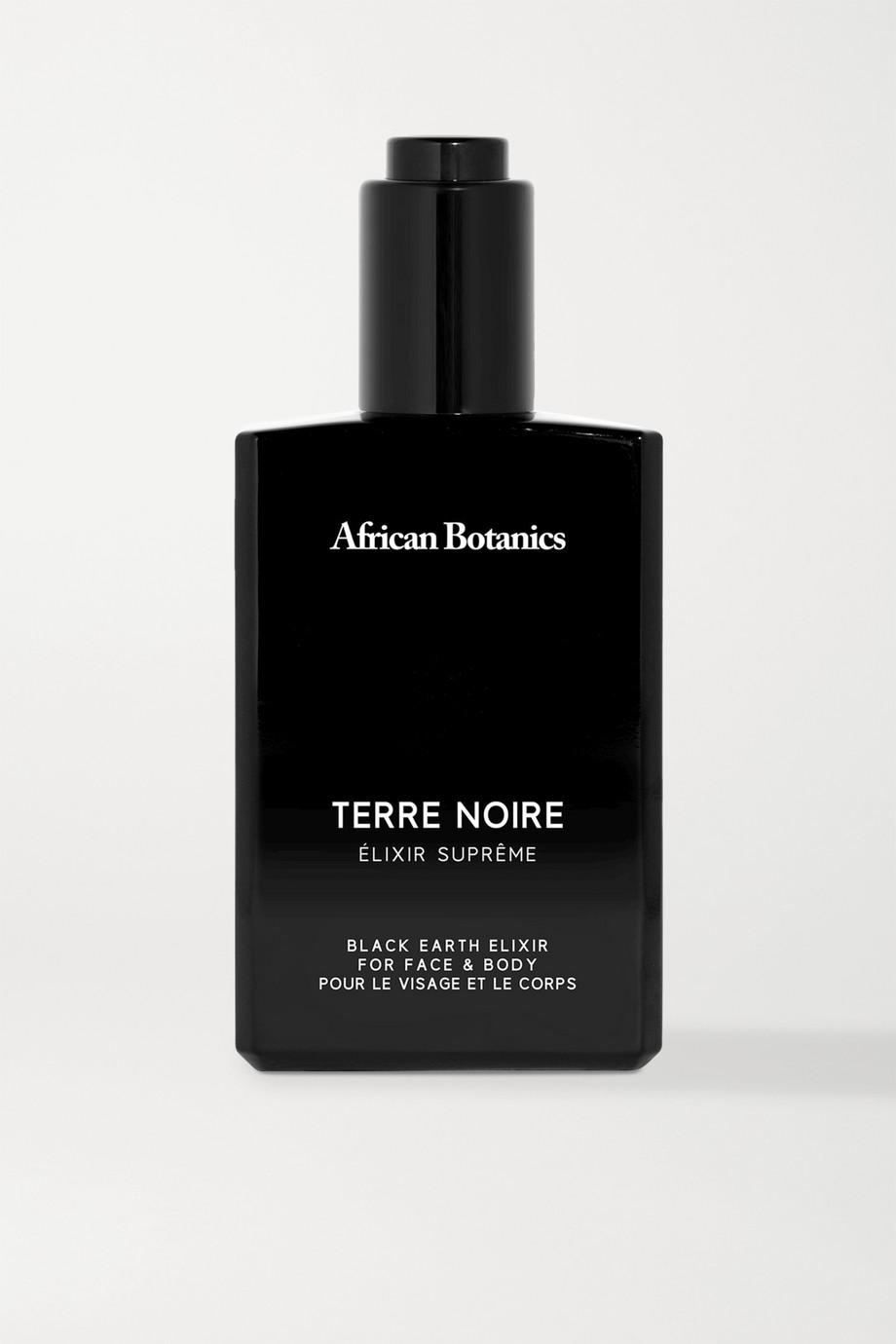 African Botanics 黑土面部身体滋养精华油,100ml