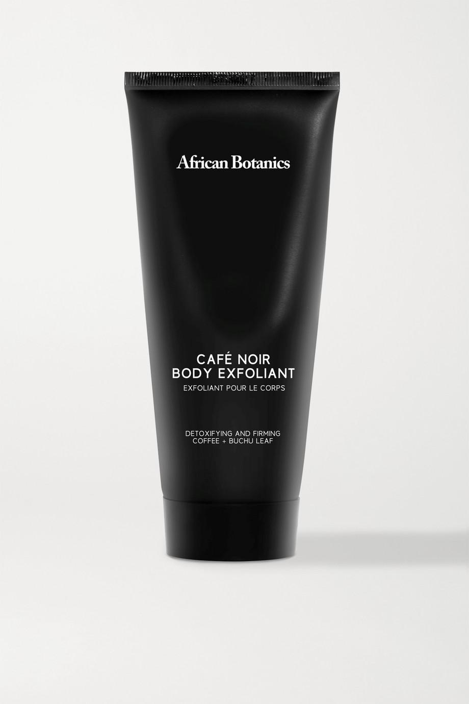 African Botanics Café Noir Body Exfoliant, 200 ml – Körperpeeling