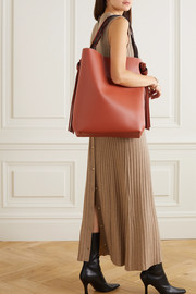 Neous Saturn knotted leather tote