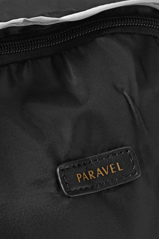 Paravel Sac à dos pliable en tissu technique à finitions en cuir et en gros-grain
