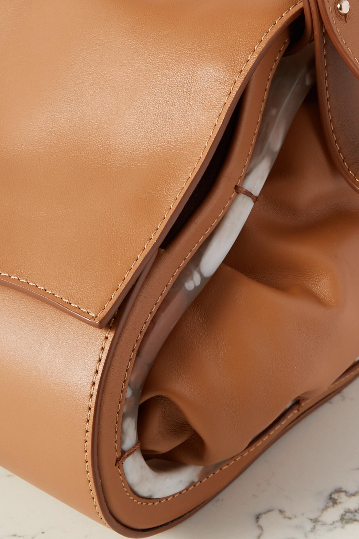 Naturae Sacra + NET SUSTAIN Tebi leather and resin tote