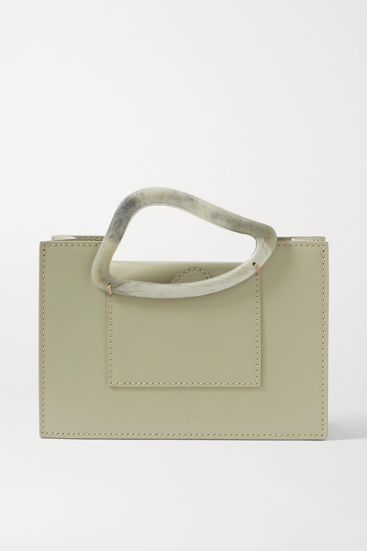 Naturae Sacra + NET SUSTAIN Arp mini leather and resin tote
