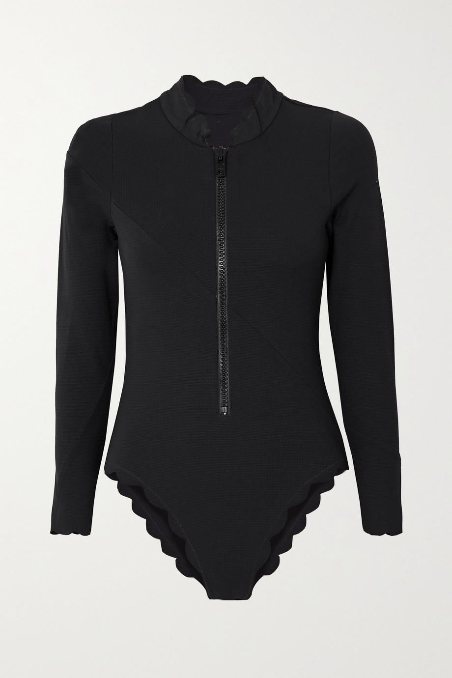 Marysia North Sea scalloped swimsuit