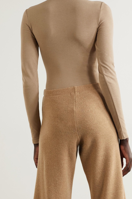 Wolford Colorado stretch-jersey turtleneck thong bodysuit