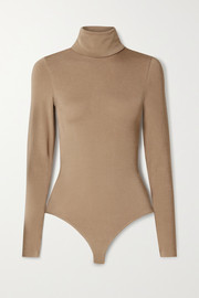 Wolford Colorado stretch-jersey turtleneck thong bodysuit