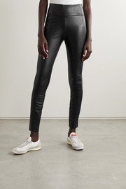Wolford Edie vegan leather leggings