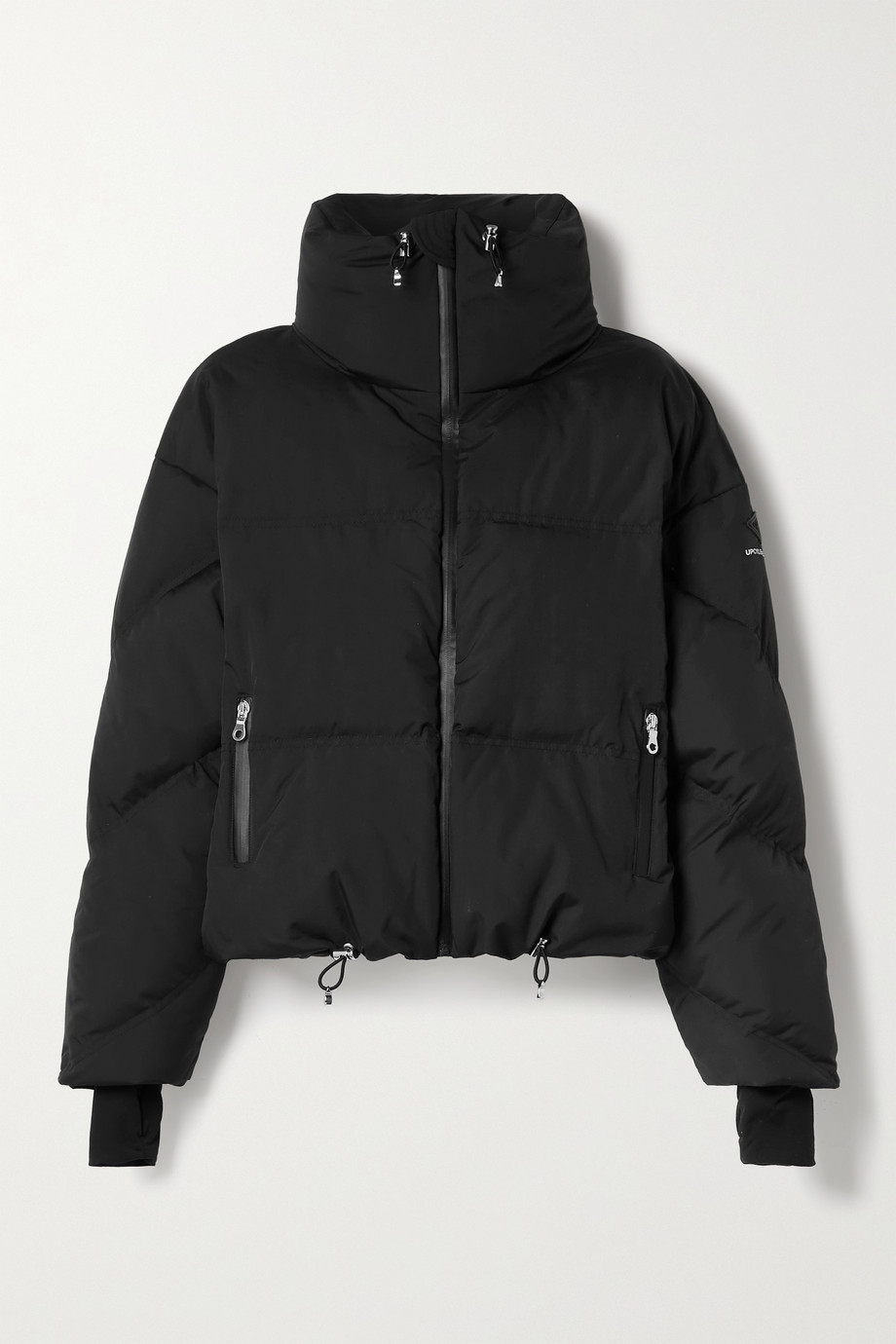 Cordova Mont Blanc hooded quilted down jacket