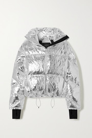 Cordova Mont Blanc metallic quilted down ski jacket