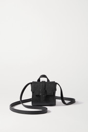 Senreve Milli Maestra textured-leather shoulder bag