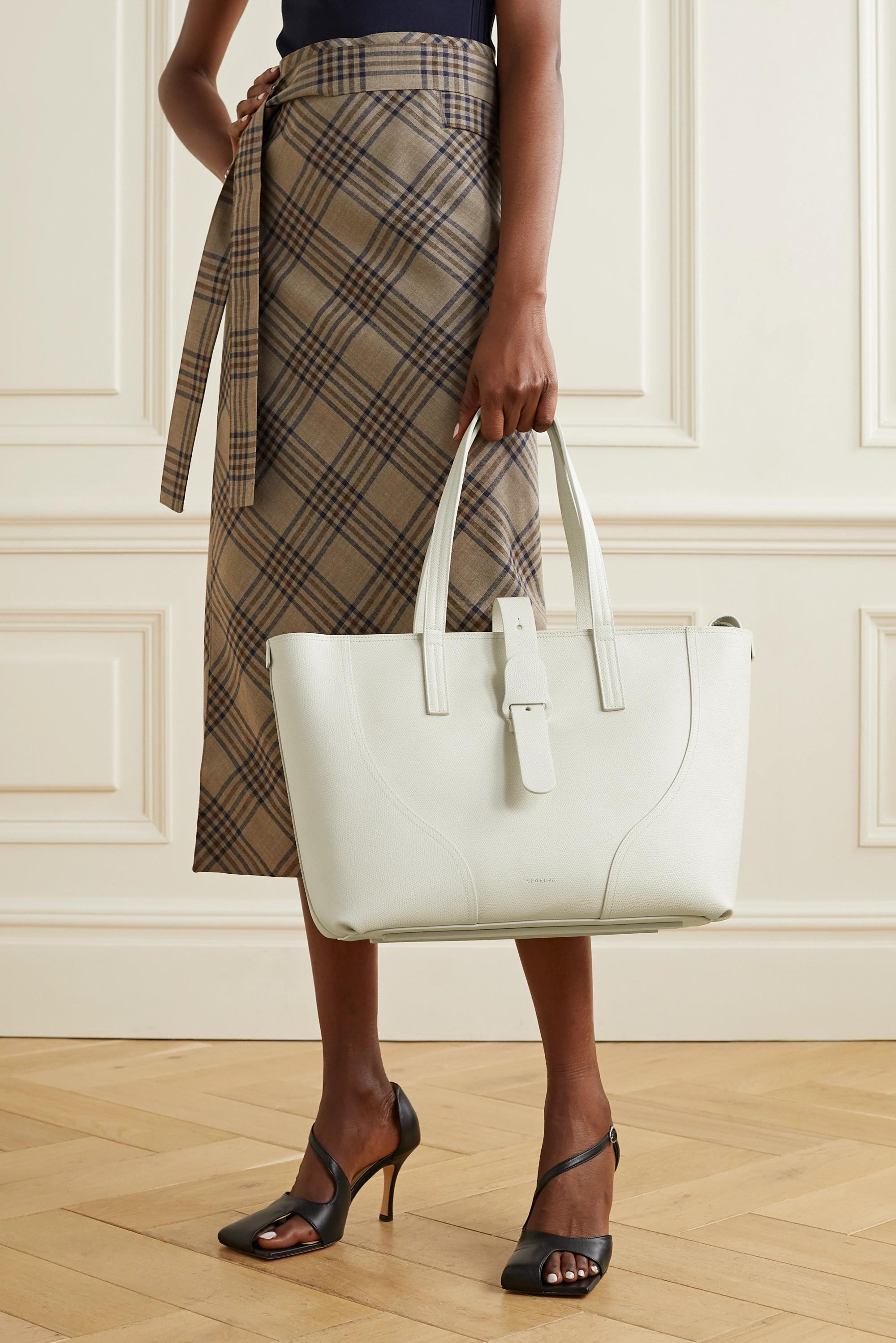 Senreve Voya textured-leather tote