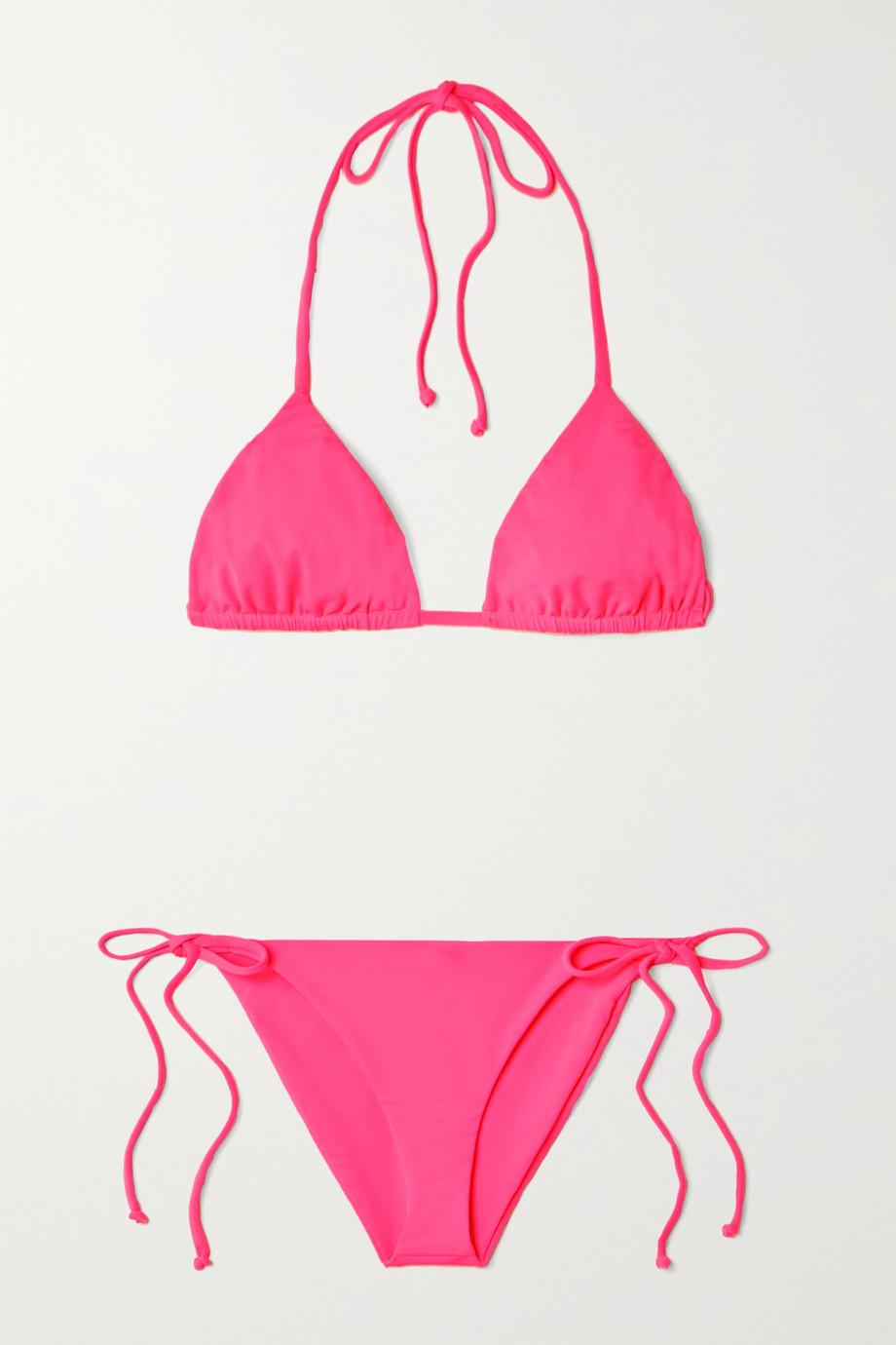 Mara Hoffman Bikini triangle dos nu Rae - NET SUSTAIN