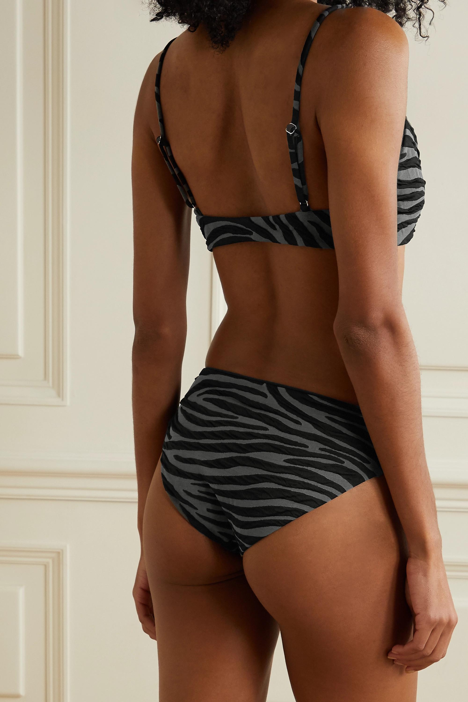 Mara Hoffman + NET SUSTAIN Carla bikini top
