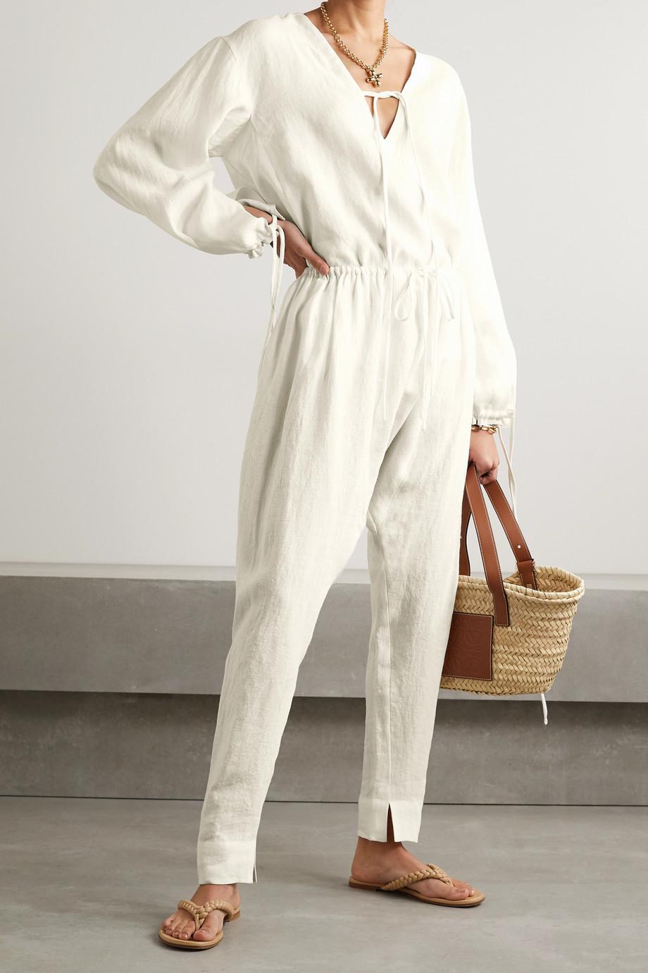Fil De Vie Marrakech linen pants