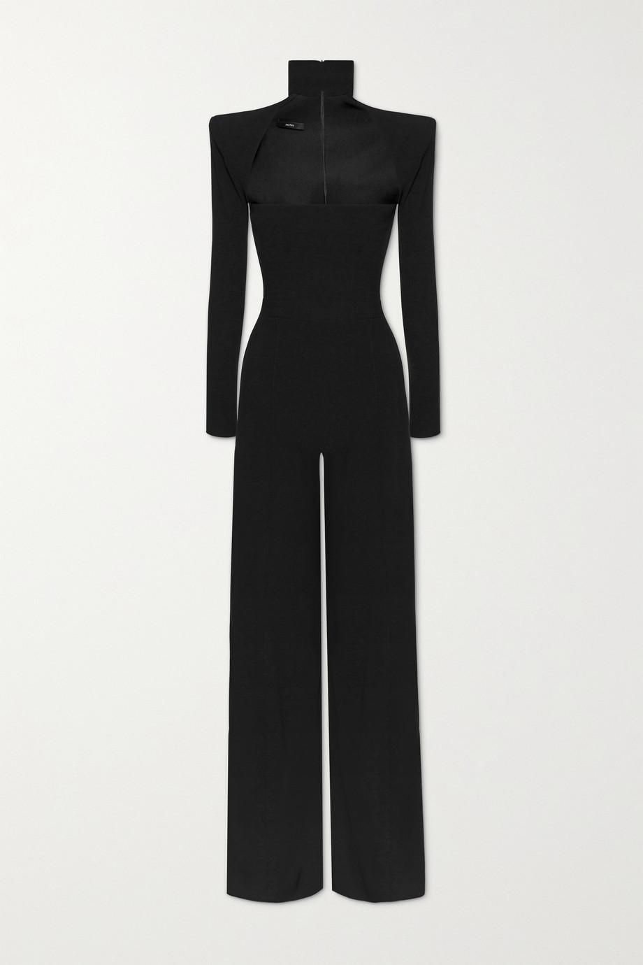 Alex Perry Morgan cutout crepe jumpsuit