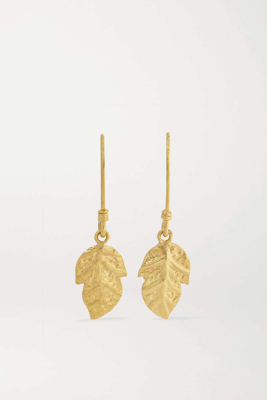 Pippa Small 18-karat gold earrings
