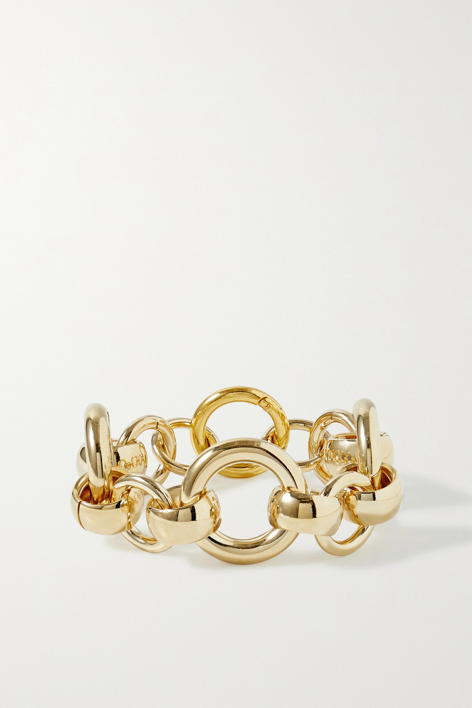 Laura Lombardi Bracelet en plaqué or Amara