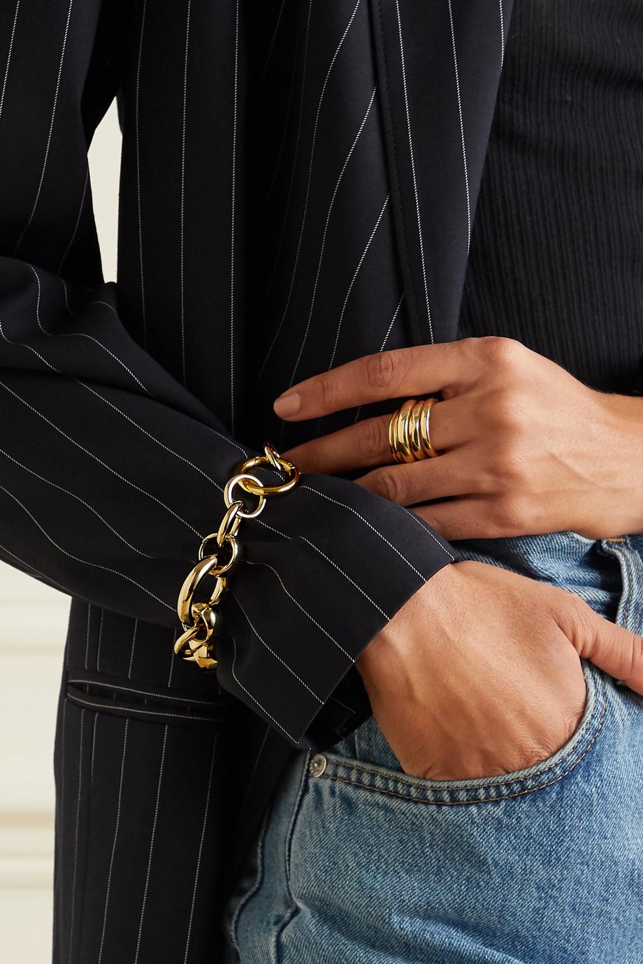Laura Lombardi Amara vergoldetes Armband