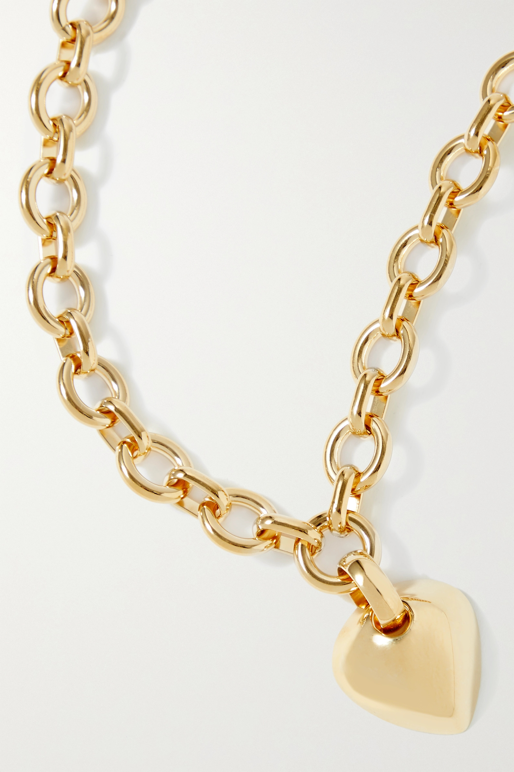 Laura Lombardi Luisa gold-plated necklace