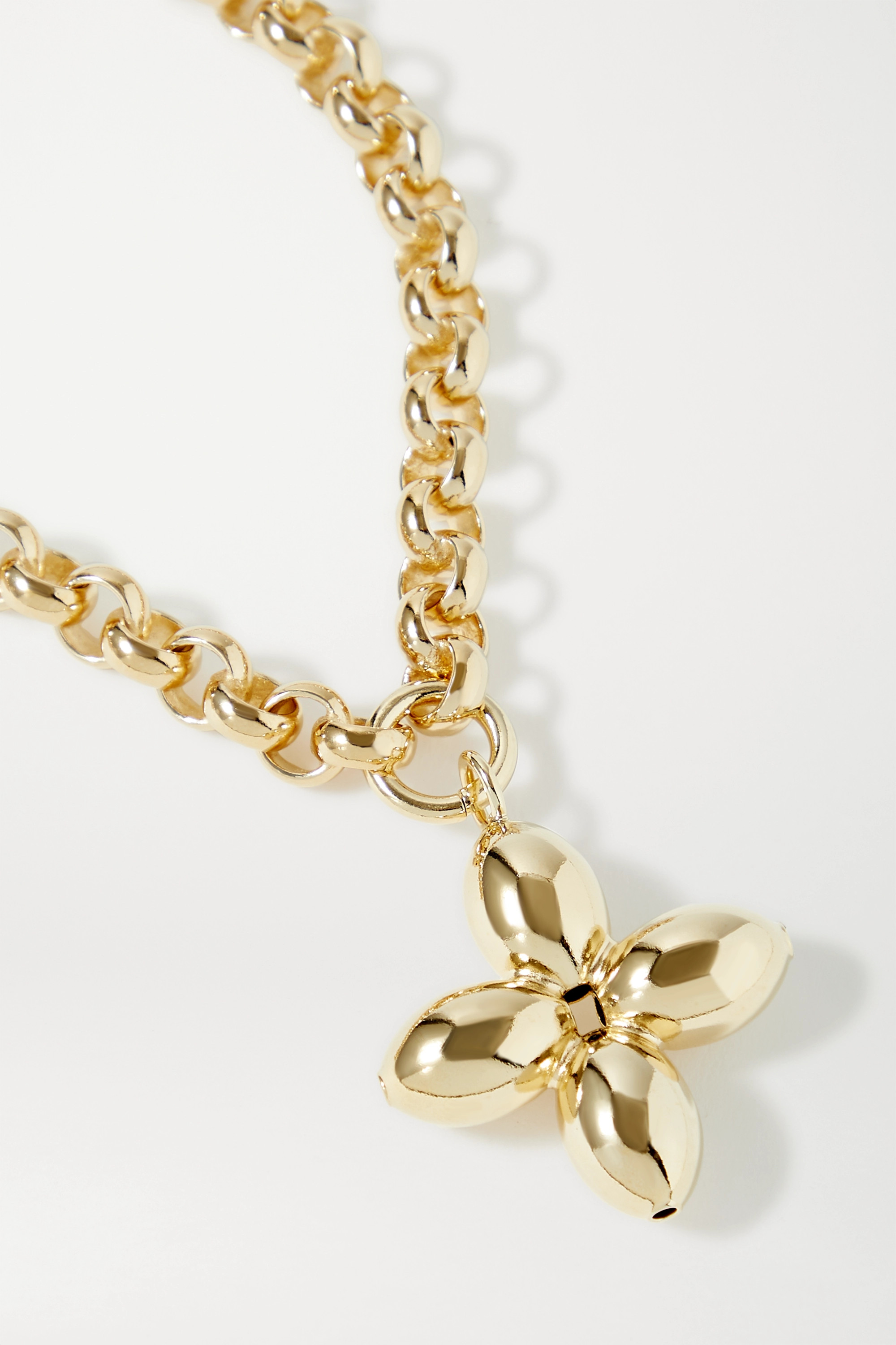 Laura Lombardi Santina gold-plated necklace