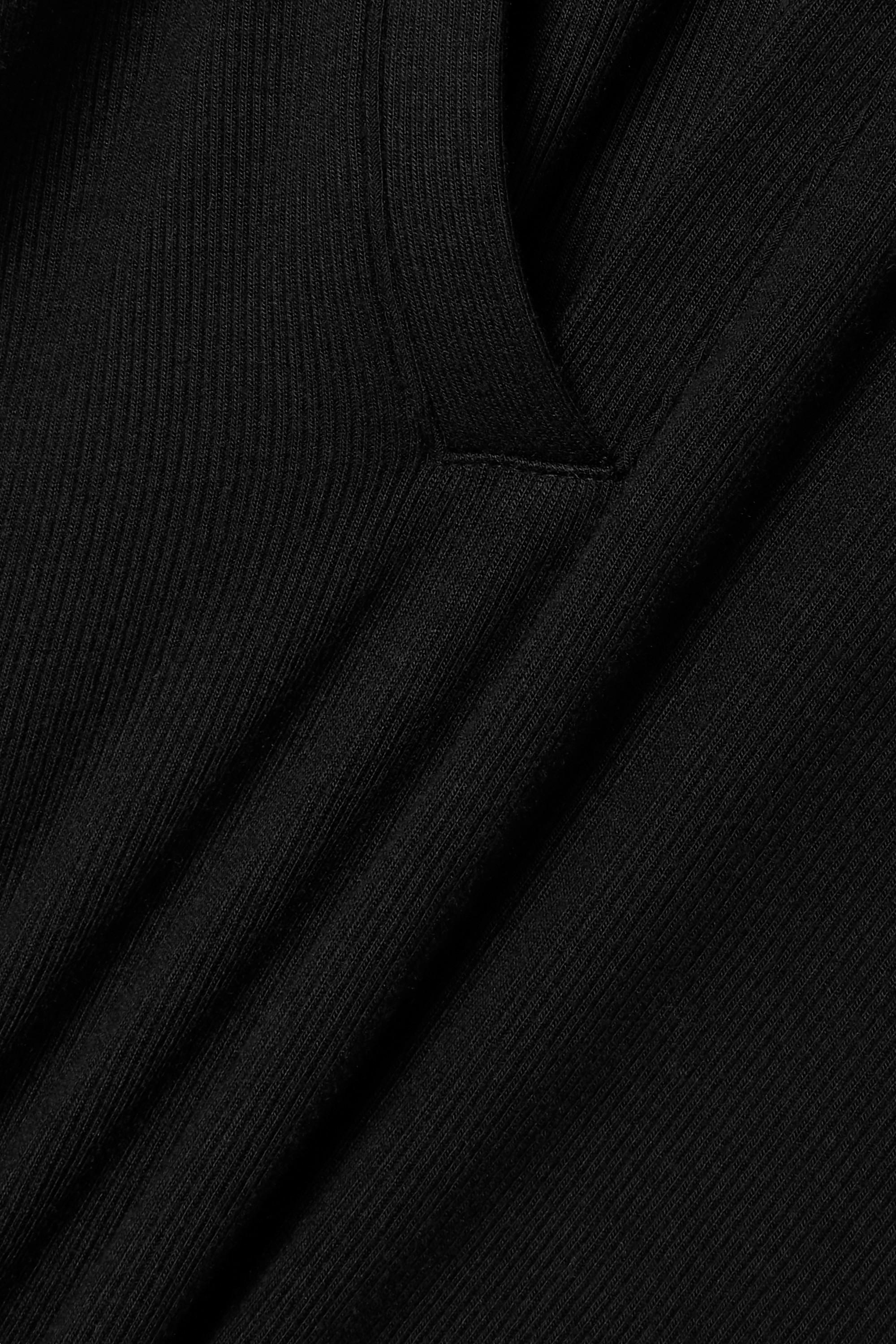Alix NYC Monterey ribbed stretch-modal jersey thong bodysuit