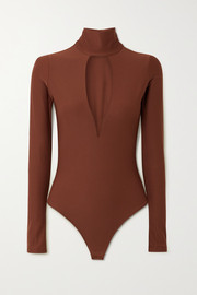 Alix NYC Hewlett cutout stretch-jersey bodysuit