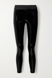 Heroine Sport Downtown coated stretch leggings