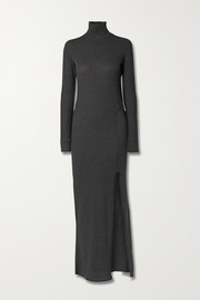 TWENTY Montréal Everest stretch-knit turtleneck maxi dress