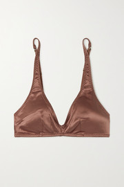 Love Stories Sugar satin soft-cup triangle bra