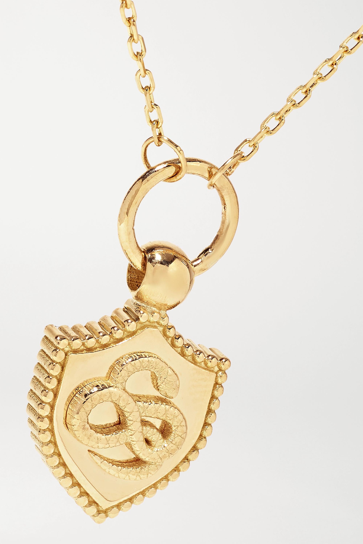Foundrae Wholeness Kette aus 18 Karat Gold