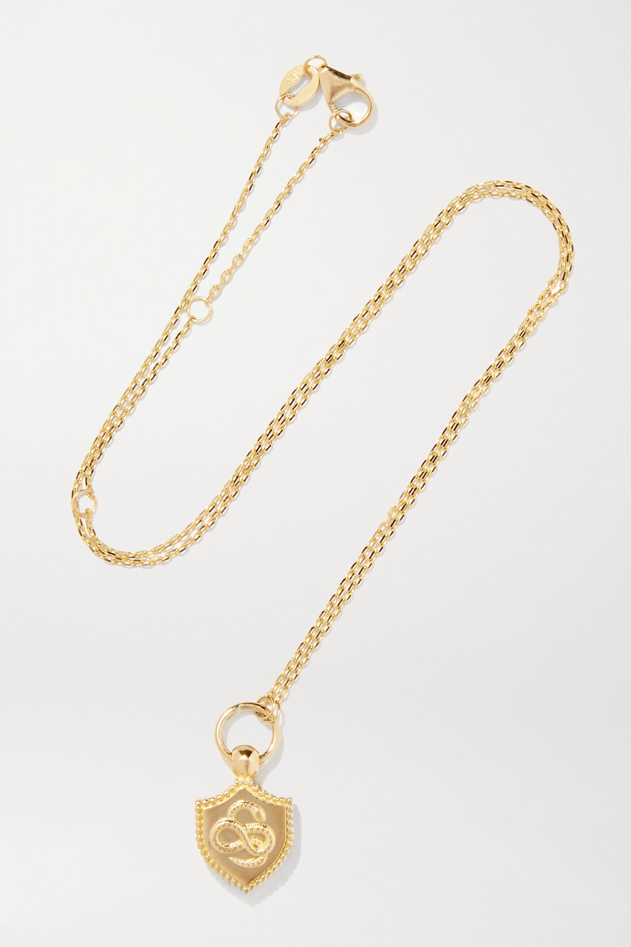 Foundrae Wholeness 18-karat gold necklace