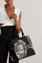 Alaïa Printed canvas tote