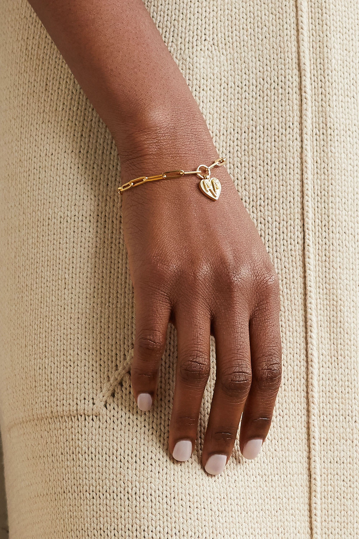Foundrae Amate 18K 黄金钻石手链