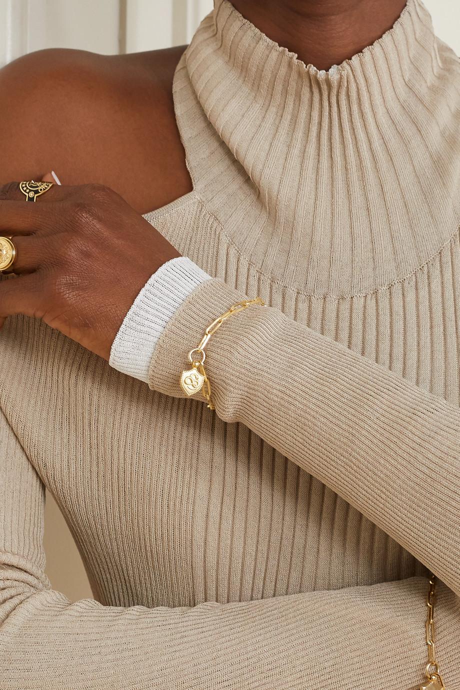 Foundrae Snake Armband aus 18 Karat Gold