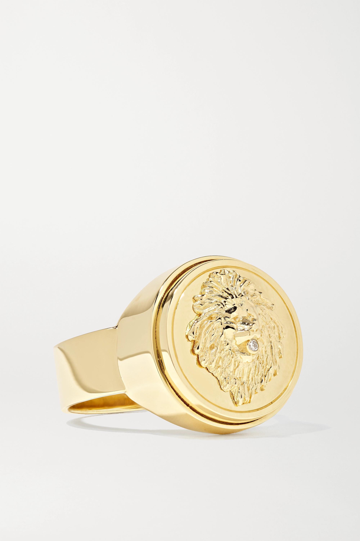 Foundrae Strength 18K 黄金钻石戒指