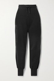 Nike Cotton-blend jersey track pants