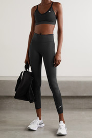 Nike One mesh-trimmed Dri-FIT leggings