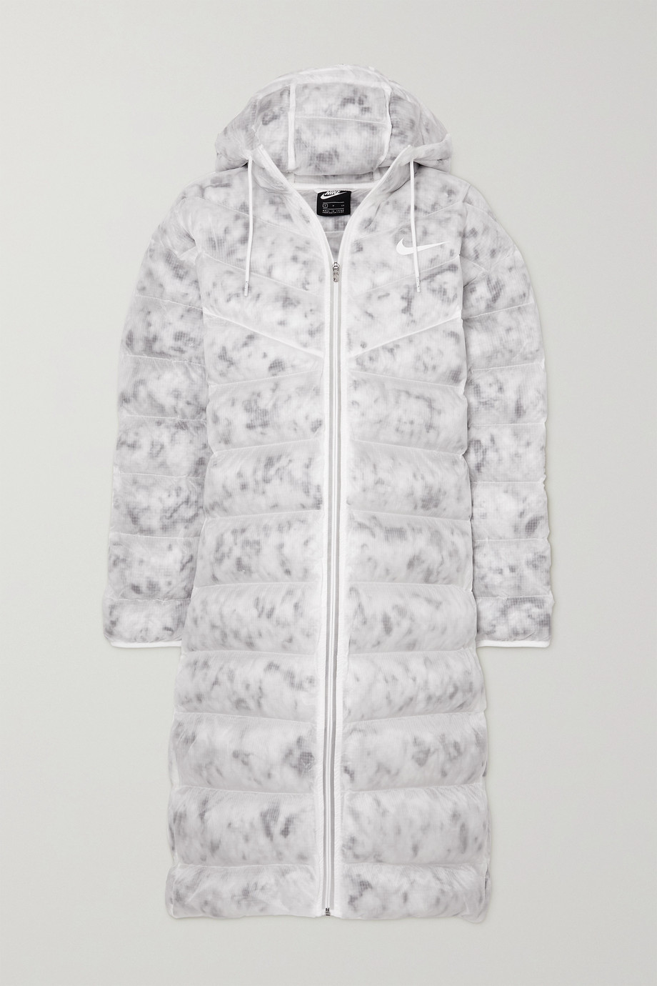 Nike Printed quilted ripstop parka