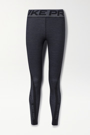 Nike Pro striped HyperWarm leggings
