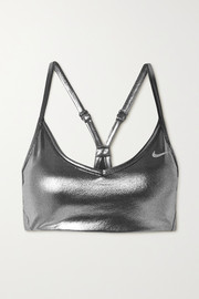 Nike Indy metallic Dri-FIT sports bra