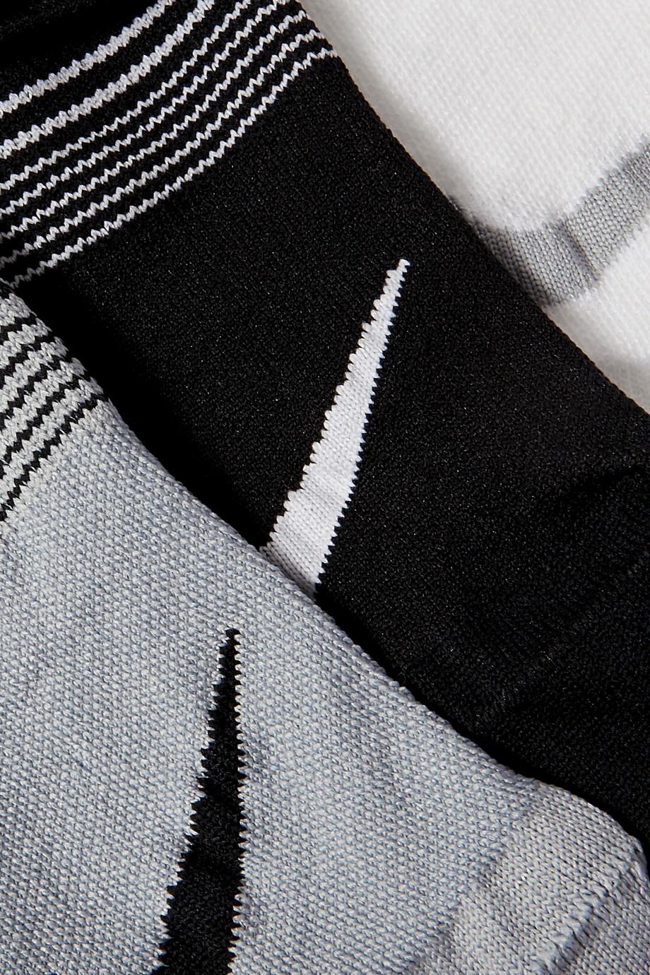 Nike Everyday Plus Set aus drei Socken aus Dri-FIT-Material