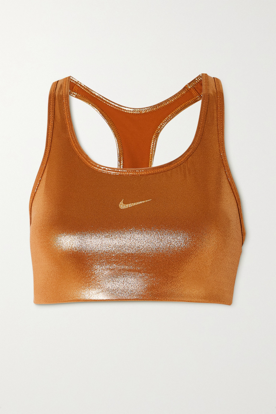 Nike Icon Clash cutout metallic stretch sports bra