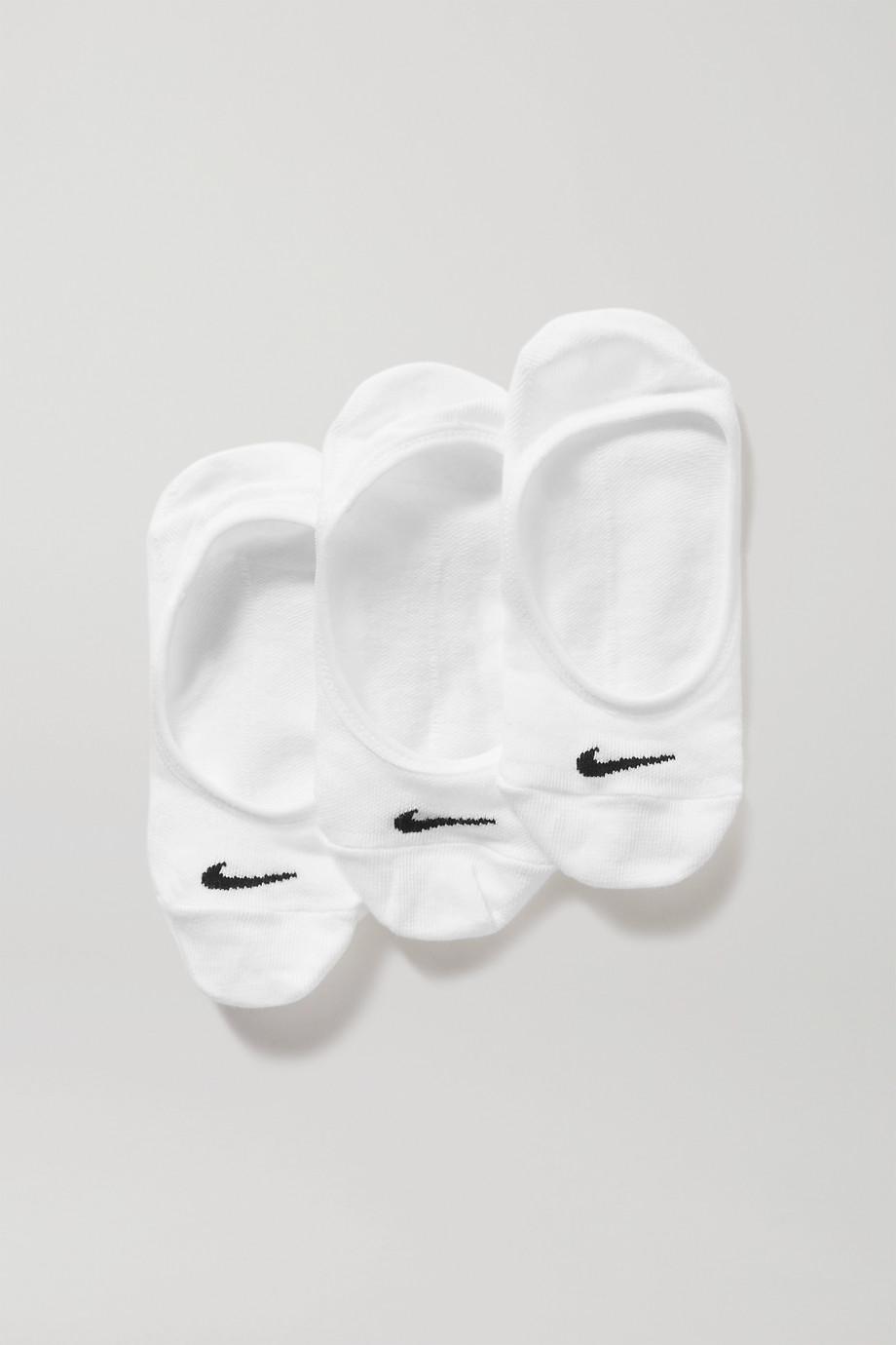 Nike Nike Everyday Lightweight Footie Set aus drei Paar Socken aus einer Baumwollmischung