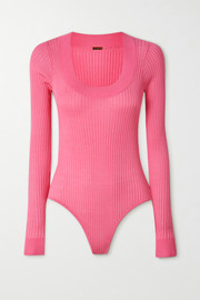 Dodo Bar Or Teddy ribbed-knit bodysuit